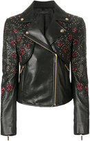 Elie Saab rose embroidered jacket