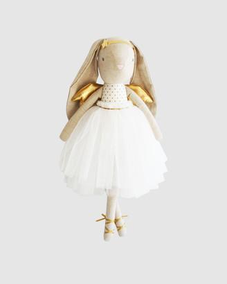 Alimrose - Girl's White Plush dolls - Estelle Angel Bunny 50cm - Size One Size at The Iconic