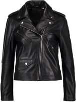 Levi's RELAXED MOTO Leather jacket black