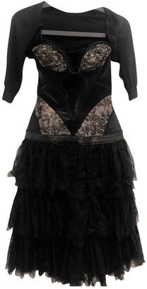 Alexander McQueen Black Lace Dresses