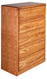 Askins 5 Drawer Chest Millwood Pines Color: Antique Alder