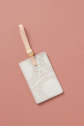 Anthropologie Penny Luggage Tag By in Grey Size ALL