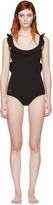 Fendi Black Magnetic Wave Swimsuit