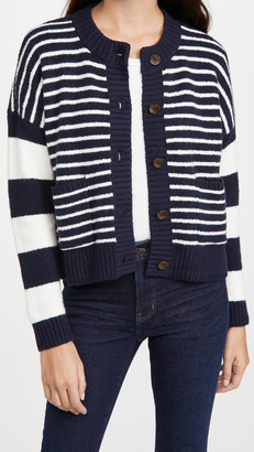 Madewell Stripe Play Colton Cardigan