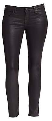 AG Jeans Women's Leatherette Ankle Leggings