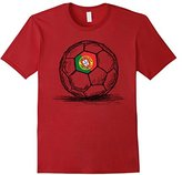 Portugal Portuguese Flag Soccer Football Jersey T-Shirt 2016