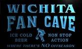 AdvPro Name td2099-b Wichita Basketball Fan Cave Man Room Bar Beer Neon Light Sign