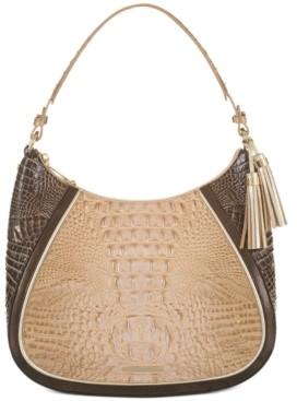 Brahmin Ciffon Roseleaf Amira Shoulder Bag