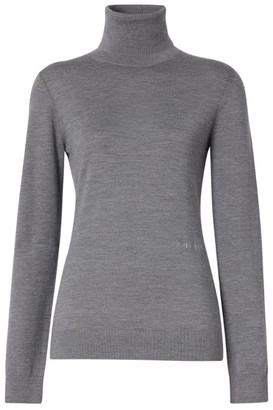 Burberry Wool-Silk Rollneck Sweater