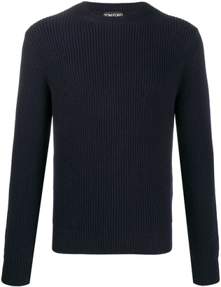 Tom Ford Ribbed-Knit Cashmere Jumper