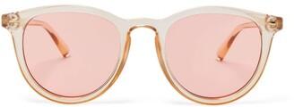 Le Specs Fire Starter Sunglasses - Womens - Coral