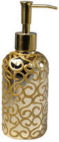 Mike and Ally Mike & Ally Jamila Glass Pump Dispenser, Golden