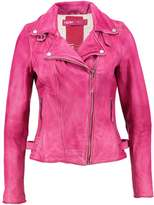 Freaky Nation FANTASY Leather jacket pink