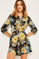 Kimchi & Blue Kimchi Blue Sabrina Floral Shirt Dress