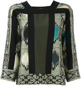 Etro printed blouse - women - Silk - 44