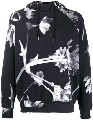 Paul Smith Floral Drawstring Hoodie