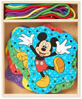 Melissa & Doug Disney Mickey Mouse Clubhouse Wooden Lacing Cards by