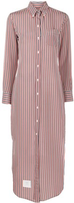 Thom Browne RWB striped shirt dress