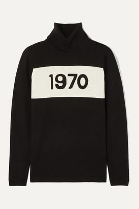Bella Freud 1970 Wool Turtleneck Sweater - Black