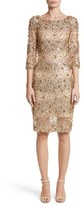 Naeem Khan Women's Embellished Degrade Sheath Dress