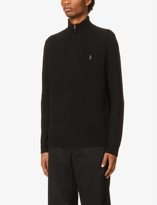 Polo Ralph Lauren Funnel-neck wool and cashmere-blend jumper