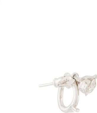 E.m. rose earring