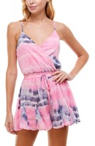 Thumbnail for your product : Trixxi Juniors' Tie-Dyed Romper