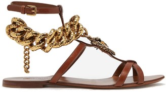 Dolce & Gabbana Devotion Chain Sandals