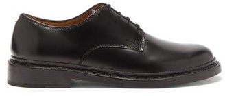 Our Legacy Union Parade Leather Derby Shoes - Black