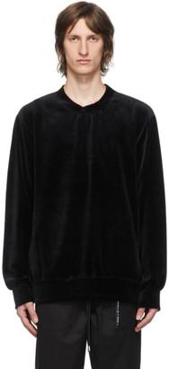Mastermind Japan Black Velour Sweatshirt