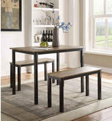 Andover Mills Rossiter 3 Piece Dining Set