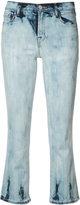 J Brand flared cropped jeans - women - Acetate/Cotton/Polyurethane - 25