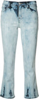 J Brand flared cropped jeans - women - Cotton/Polyurethane/Acetate - 25