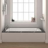"Fine Fixtures Drop In or Alcove 30"" x 60"" Soaking Bathtub"