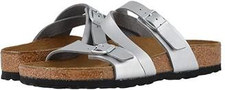 Birkenstock Salina (Silver Sea Birko-Flor) Women's Sandals