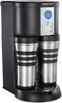 Hamilton Beach Stay or Go Custom Pair Coffee Maker