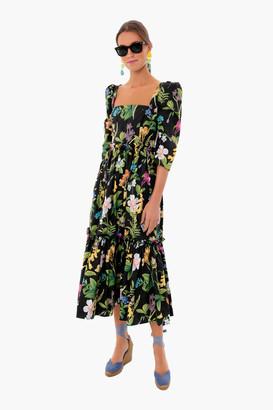 Cara Cara Hudson Black Blue Hill Dress