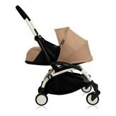 Babyzen Complete New YOYO Newborn Baby Stroller, Birth 0-6 months, White Frame