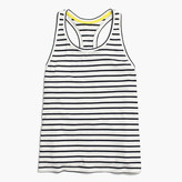 J.Crew Racerback tank top in stripe