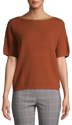 Time and Tru - Time and Tru Women's Short Sleeve Sweater - Walmart.com