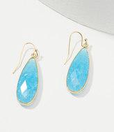 LOFT Stone Drop Earrings