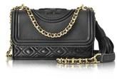 Tory Burch Women's Black Leather Shoulder Bag.