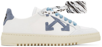 Off-White Blue 2.0 Low Top Sneaker