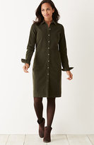 J. Jill Corduroy Shirtdress