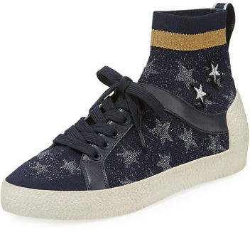 Ash Ninja Star-Sock Lace-Up Sneaker