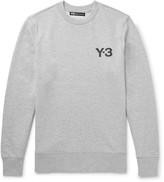 Y-3 - Slim-fit Printed Loopback Cotton-jersey Sweatshirt
