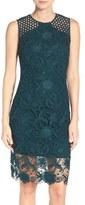 Vera Wang Lace Sheath Dress