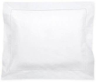 Matouk Luca Hemstitch Sham - White boudoir
