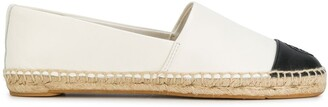 Tory Burch colour block flat espadrilles