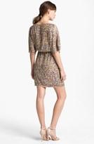 Trina Turk 'Vega' Blouson Sequin Dress